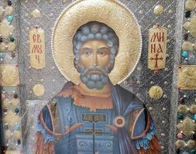 alt В гр. Кюстендил ще бъдат посрещнати   икона и частица от мощите на Св. вмчк Мина