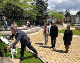 alt Кюстендил отбеляза с тържествено слово Денят на Ботев и на загиналите за свободата и независимостта на България.