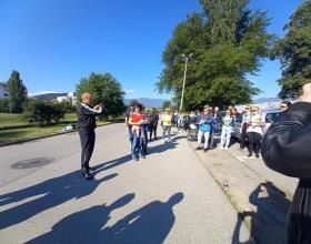 alt Днес, отбелязвайки Световения ден на околната среда, общинска администрация, общински съветници и граждани се включиха в организираното почистване на град Кюстендил.