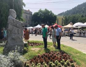alt Кюстендил отбеляза 127 години от рождението на почетния гражданин на Кюстендил -  Димитър Пешев