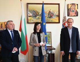 Кюстендил с център за високи постижения  в областта професионалното образование в рамките на ЕРАЗЪМ +